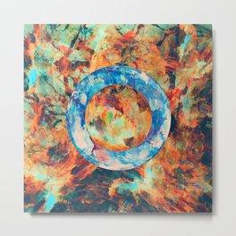 Sphère Metal Print