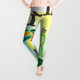 You TouCan Save The Rainforest Leggings