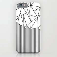 Ab Lines White iPhone 6s Slim Case