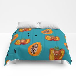 DINNER IN SPAIN BLUE Comforters