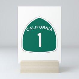 California 1 Shield Mini Art Print