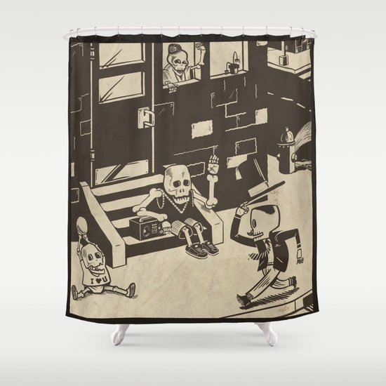 Shed Some Skin Shower Curtain