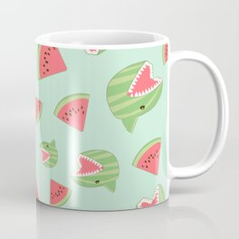 Watermelon Shark Coffee Mug
