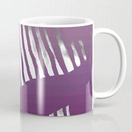 Purple Zebra Coffee Mug