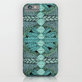 Ink Pattern No.3 iPhone Case