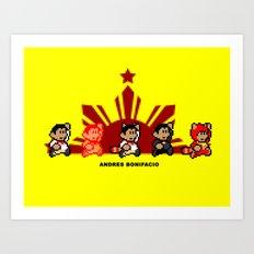8-bit Andres Bonifacio 2 Art Print