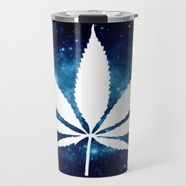Weed : High Times Blue Galaxy Travel Mug