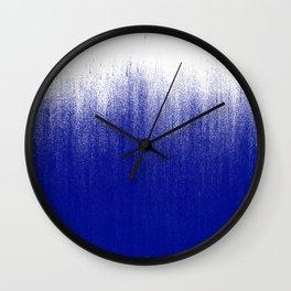 Ink Blue Ombré Wall Clock