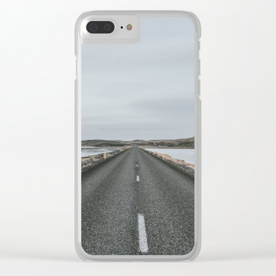 Empty Road - A Love Story Clear iPhone Case