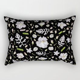 Leaves and flowers (10) Rectangular Pillow