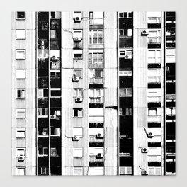 Belgrade | Takovska | black and white Canvas Print