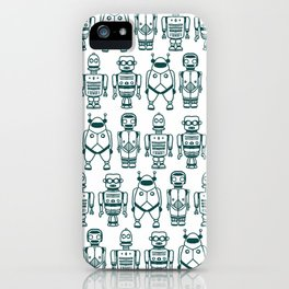 Beep Boop iPhone Case