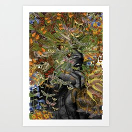 Toxicity 2 - Collage art by bedelgeuse Art Print