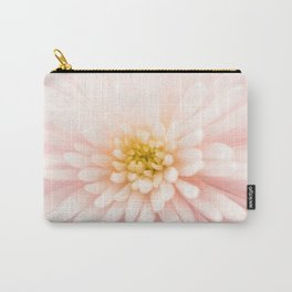 Good Morning - Beautiful Bright Dreamy Spider Mum Flower Light Pink White Yellow Carry-All Pouch