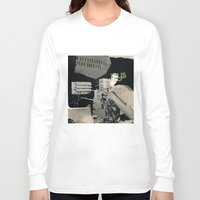 architect Long Sleeve T-shirts featuring Behind the architect III by Paul Prinzip