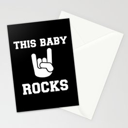 This Baby rocks Stationery Cards