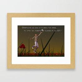 To Reach The Stars Framed Art Print