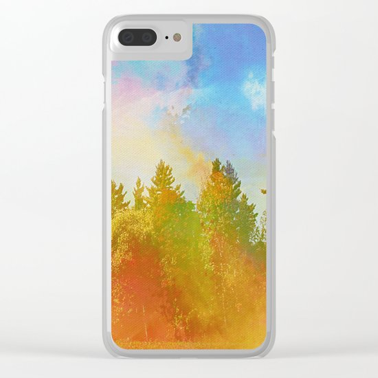 Enchanted Scenery 6 Clear iPhone Case