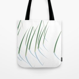 Reeds in Snow Tote Bag