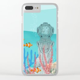 WATER DOG Clear iPhone Case