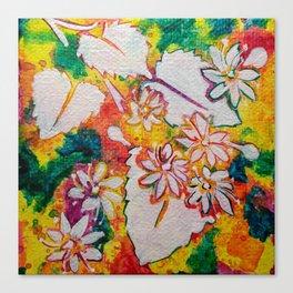 Leaves on the World Tree: Bashkir Linden Canvas Print
