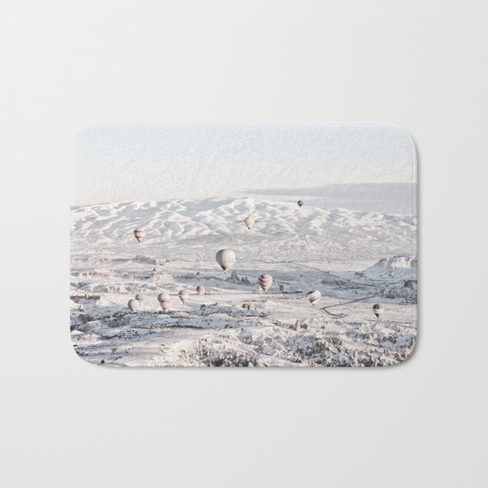 Air Balloons #society6 #art #buyart Bath Mat