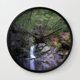 Purgatory Falls NH in May Wall Clock