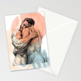 The Lovers - NOODDOOD Remix Stationery Cards