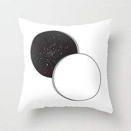 A Space Throw Pillow