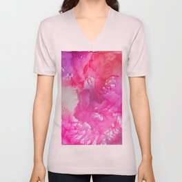 Cotton Candy Dreams Unisex V-Neck