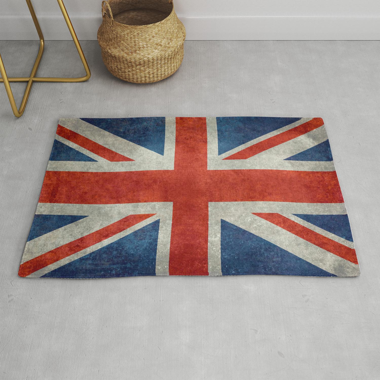 """UK British Union Jack flag """"Bright"""