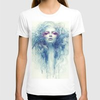 oil T-shirts featuring Oil by Anna Dittmann