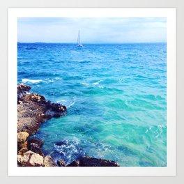Sea at Mallorca,Spain Art Print