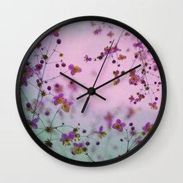 Vintage Little Flowers Wall Clock