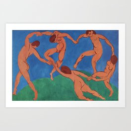 THE DANCE - HENRI MATISSE Art Print
