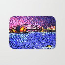 Sydney Harbour Bath Mat