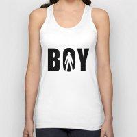 boy Tank Tops featuring boy by Steffi Louis