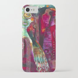 """""""True Nature"""" Original Painting by Flora Bowley iPhone Case"""