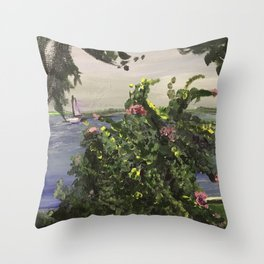 Southport Waterfront Throw Pillow