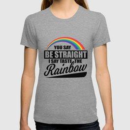 LGBT pride rainbow gay marriage pun gifts T-shirt