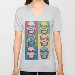 Bob vs. Warhol Unisex V-Neck