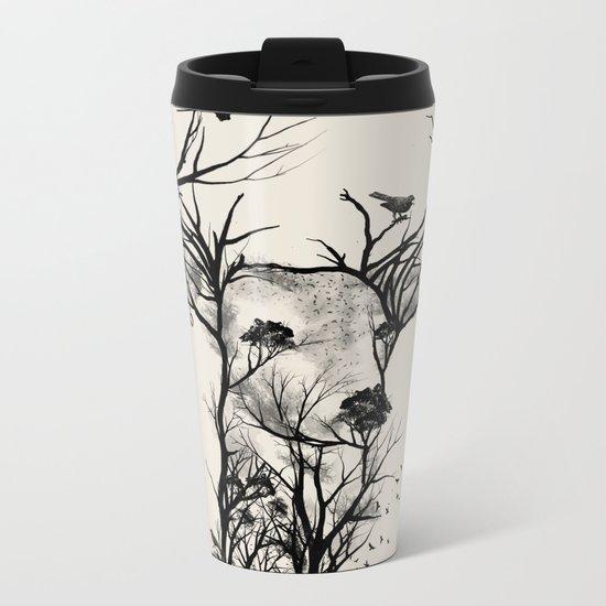 Wild Buck Metal Travel Mug