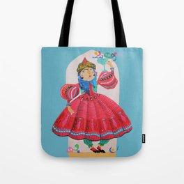 Qajar princess Tote Bag