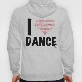 I Heart Dance (black) Hoody
