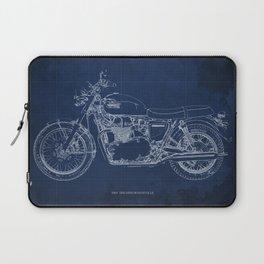 1969 triumph bonneville classic vintage motorcycle christmas gift Laptop Sleeve