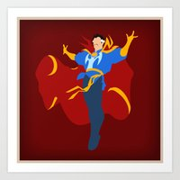 Sorcerer Supreme (Dr. Steven Strange) Art Print