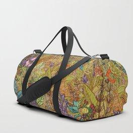 Floral Garden Duffle Bag