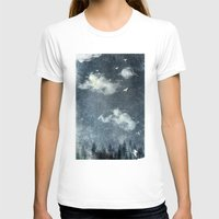 cloud T-shirts featuring The cloud stealers by HappyMelvin