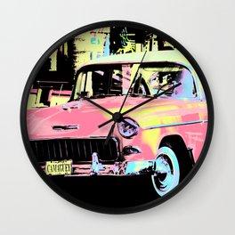 Cuban Classic Car Wall Clock