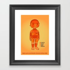 BBQ Time Framed Art Print